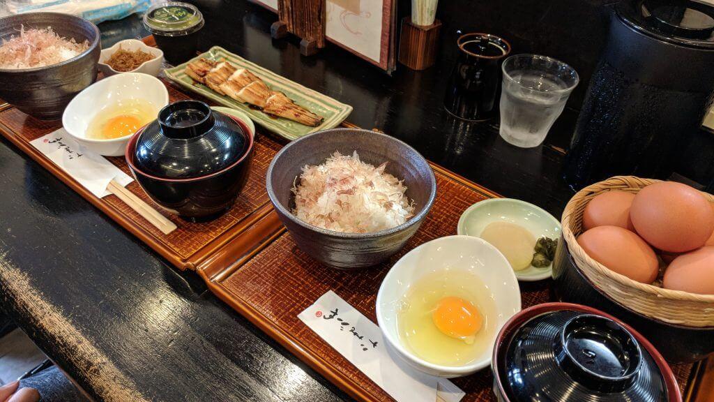 Lunch at Tamago-ya