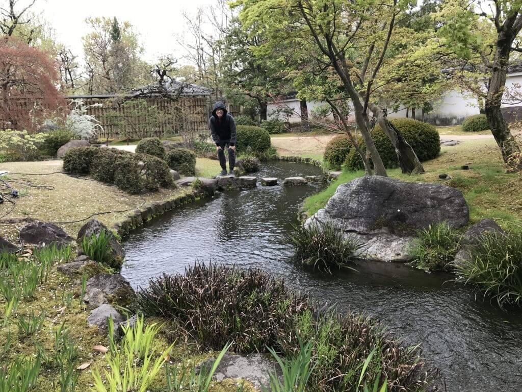 Kokoen garden at Himeji Castle