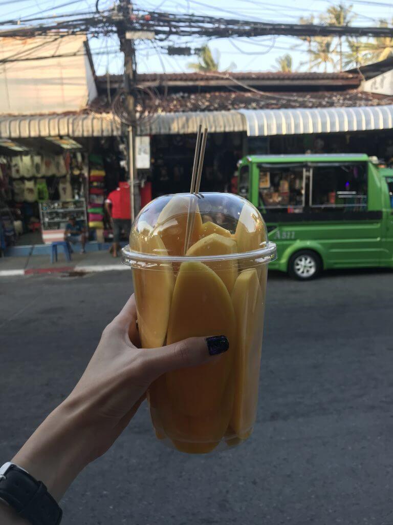 Phuket mangoes