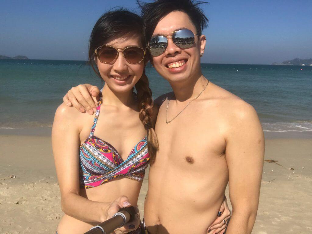 At Patong Beach
