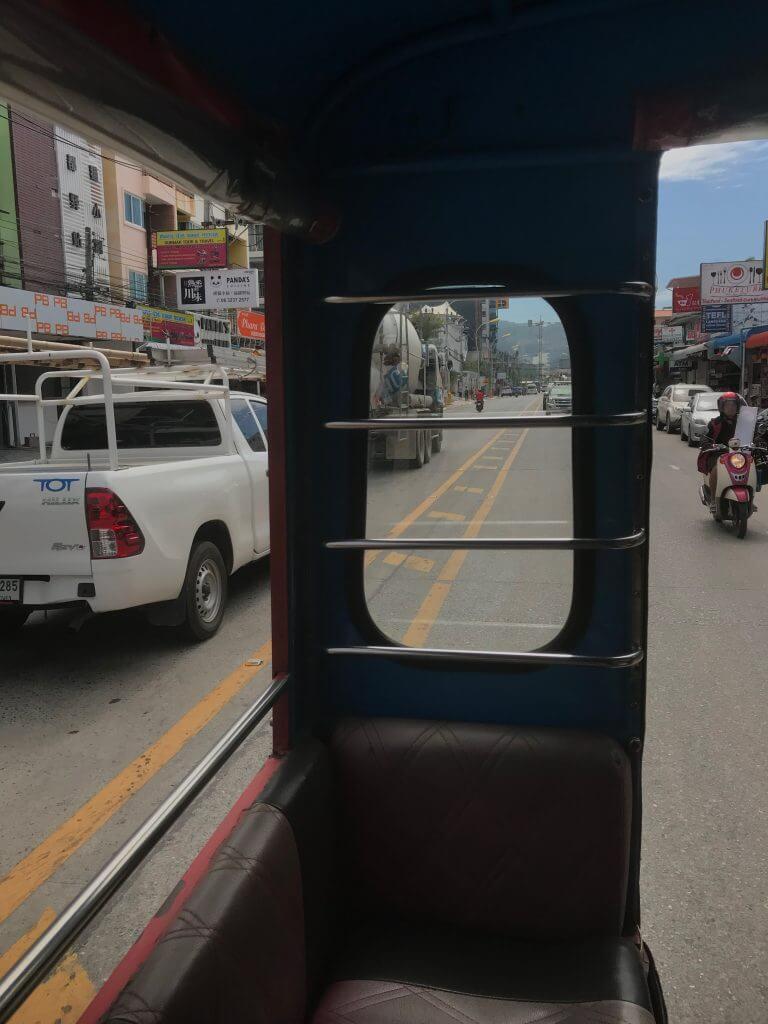 Tuktuk ride