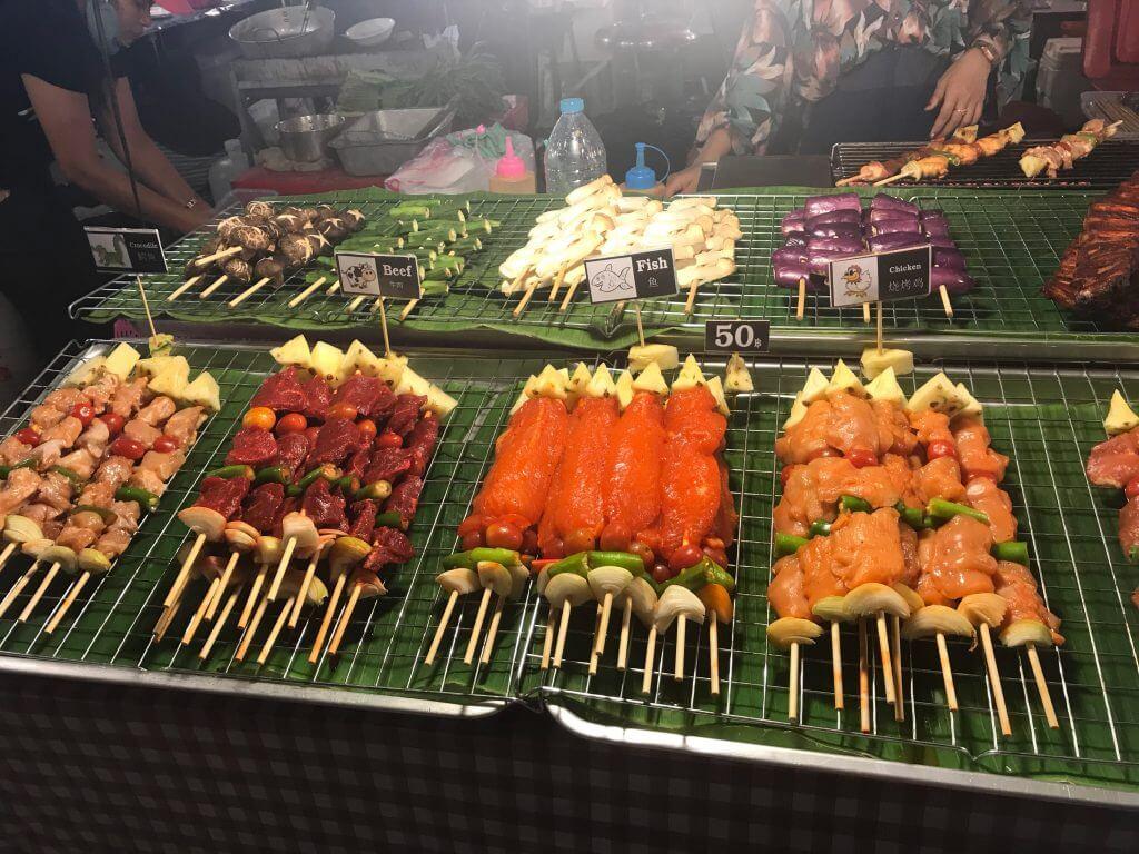 Patong Night Market street food