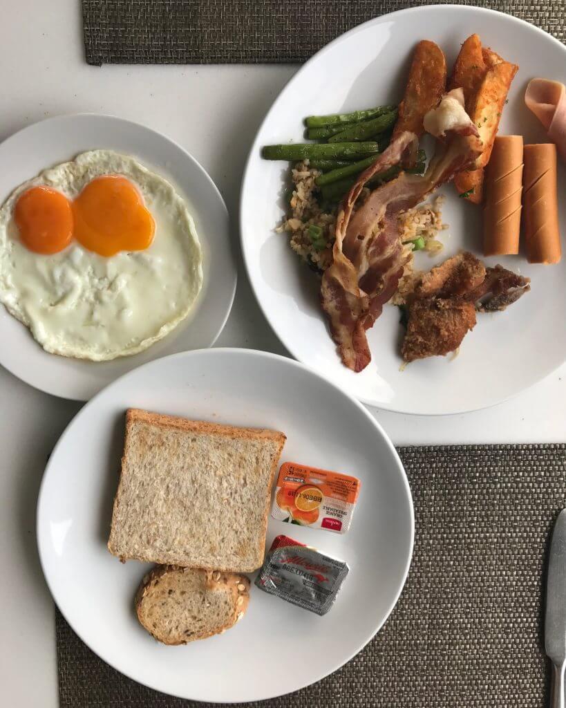 Breakfast at IndoChine