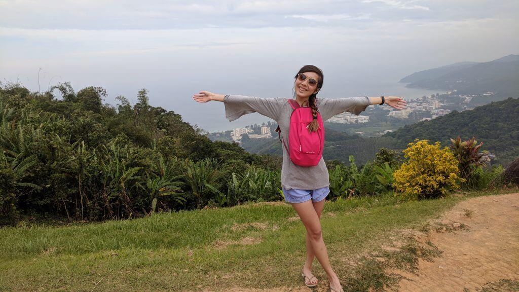 Big Buddha mountain view point