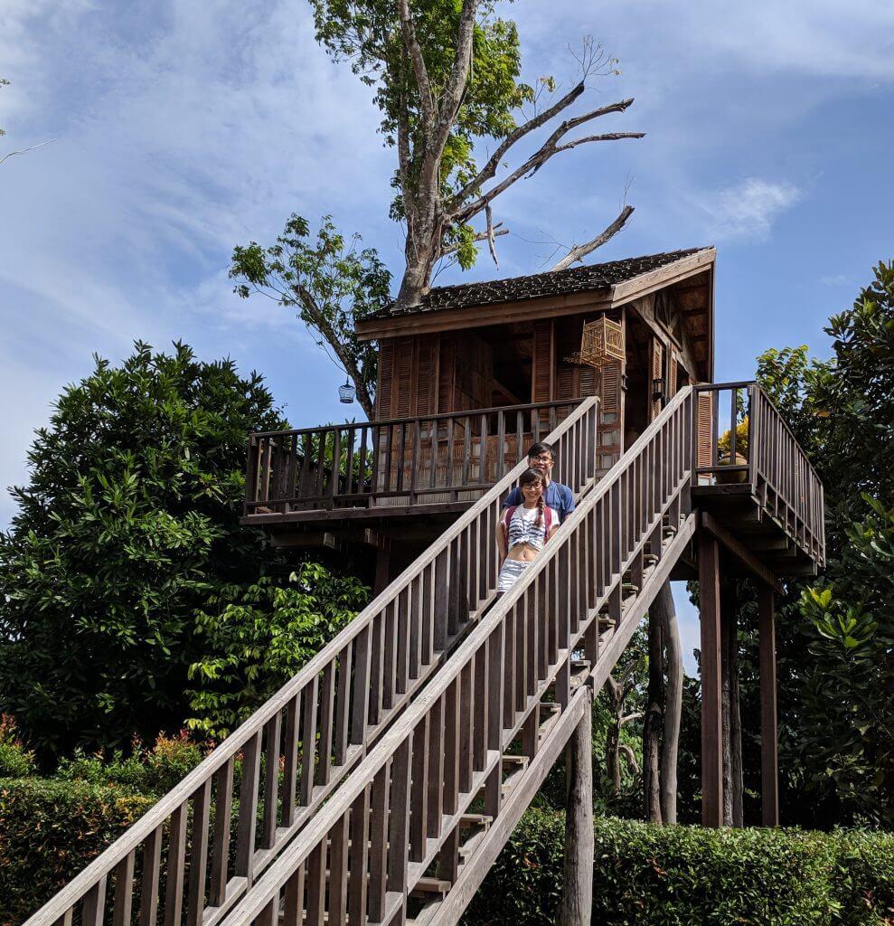 Upside Down House Treehouse