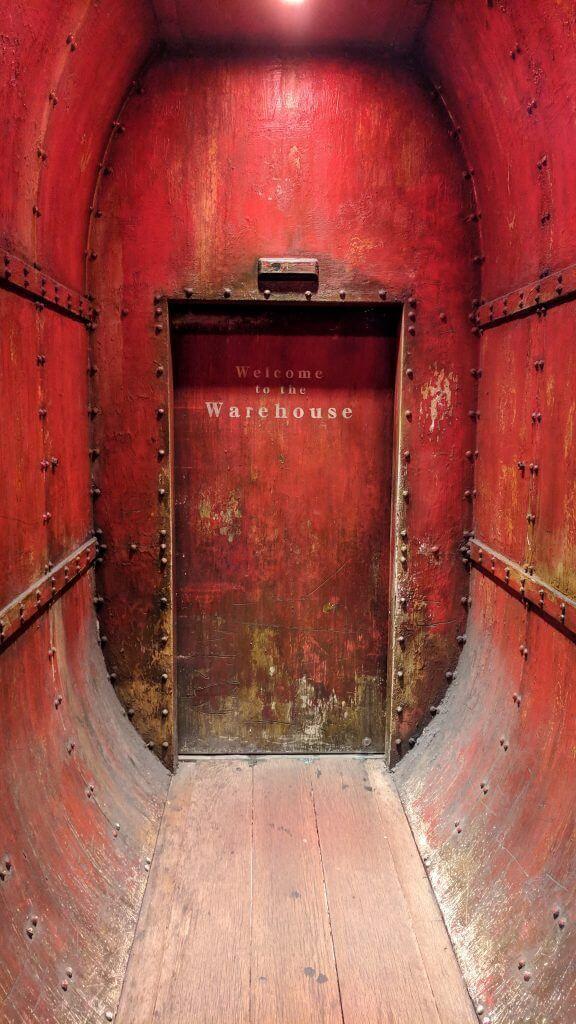 The entrance of Anata no Warehouse