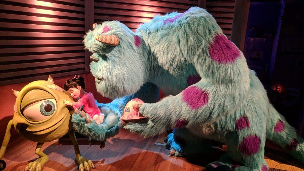 Monster Inc Ride at Disneyland