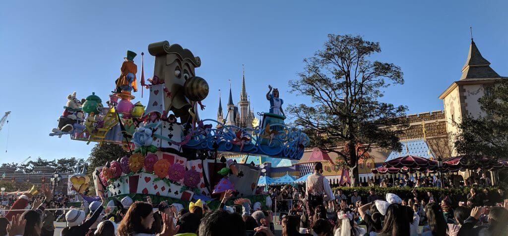 Parade at Disneyland