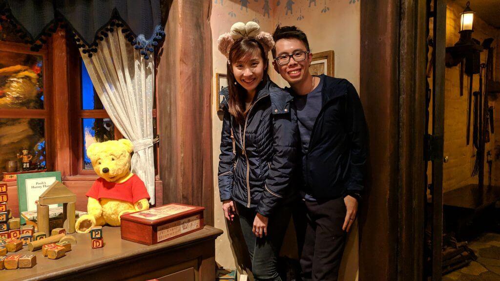 Pooh's Hunny Hunt at Disneyland