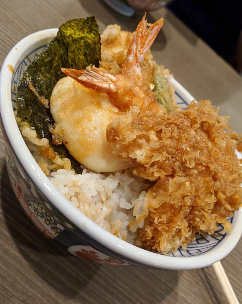 Dinner at Odaiba