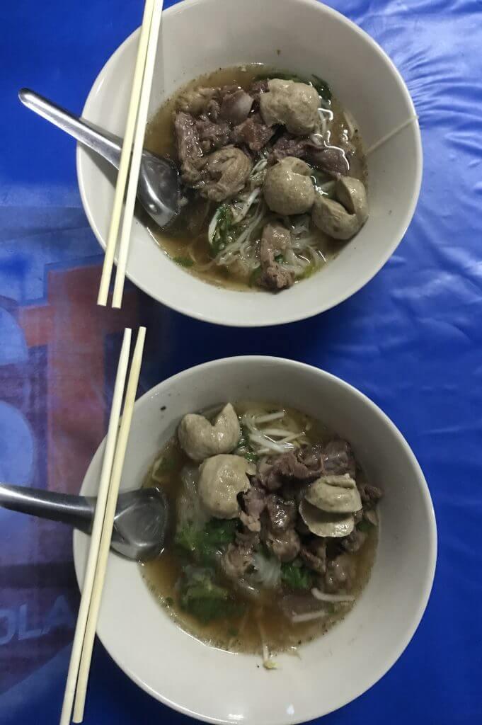 Thai boat noodle