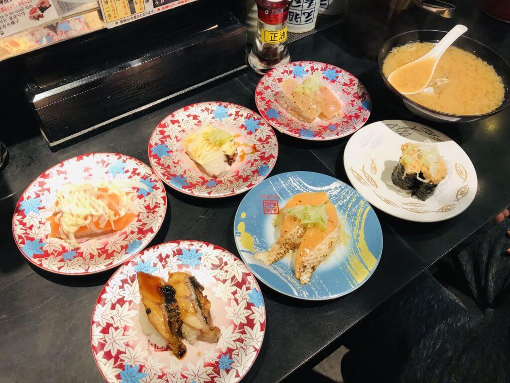 Sushi at Shimo-kitazawa