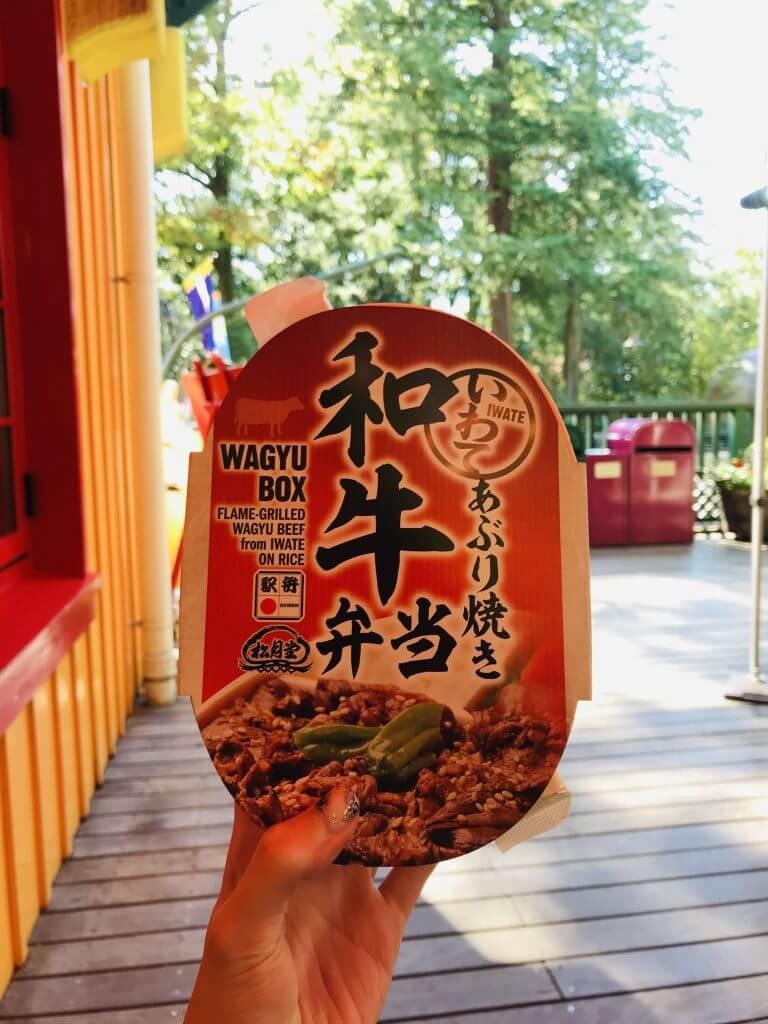 Bento at Ghibli Museum