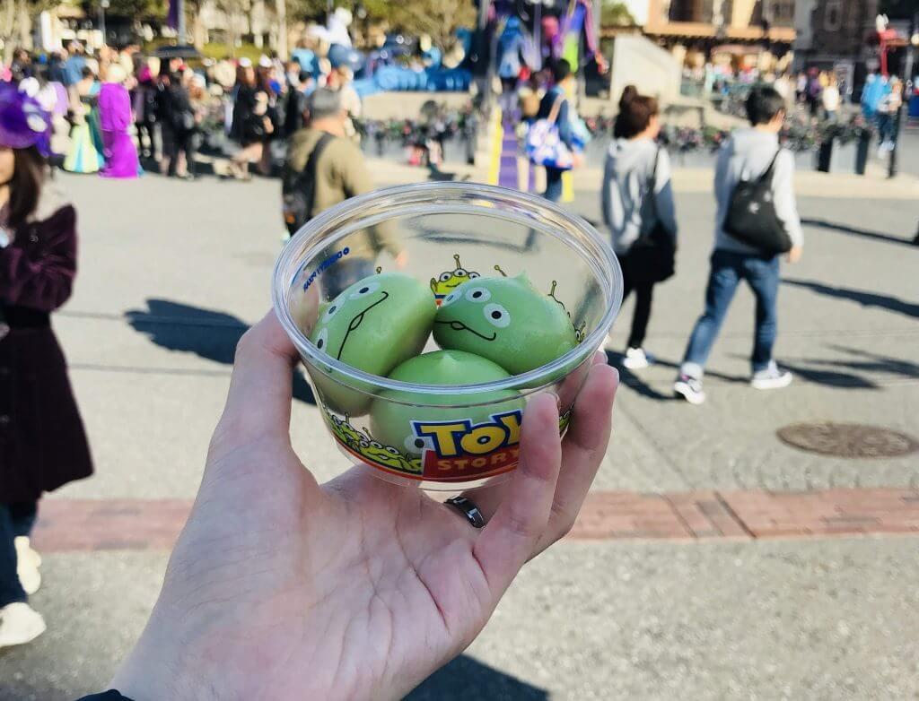 Mochi Ice cream at DisneySea