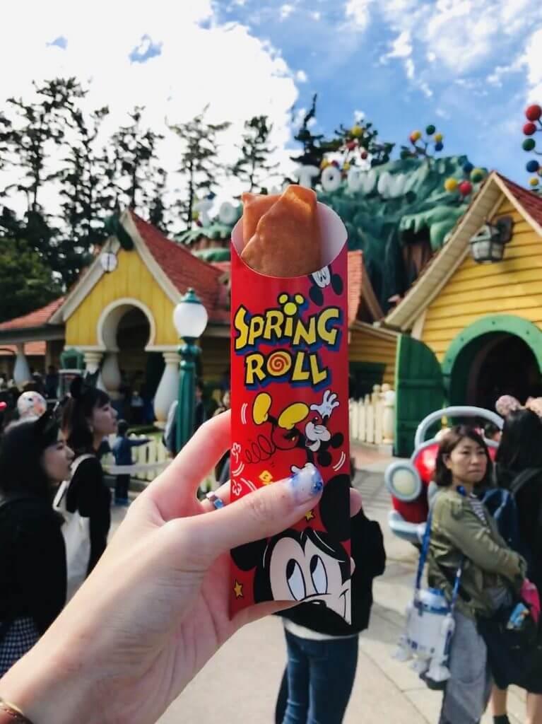 Spring Roll at Disneyland