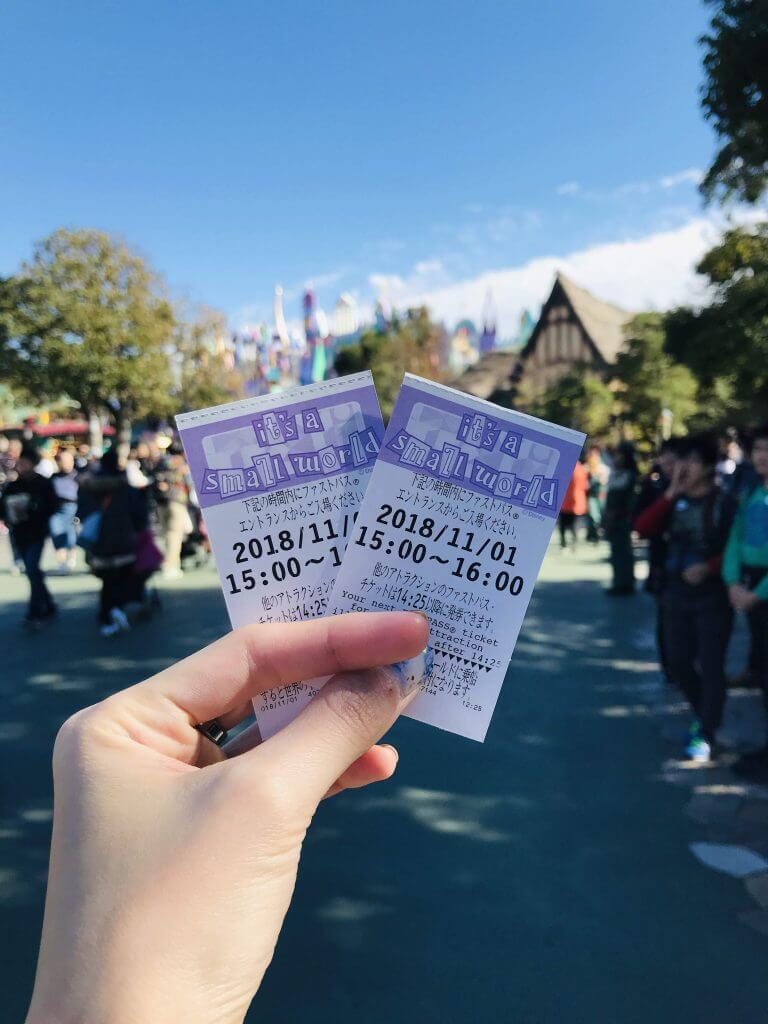 FastPass at Disneyland