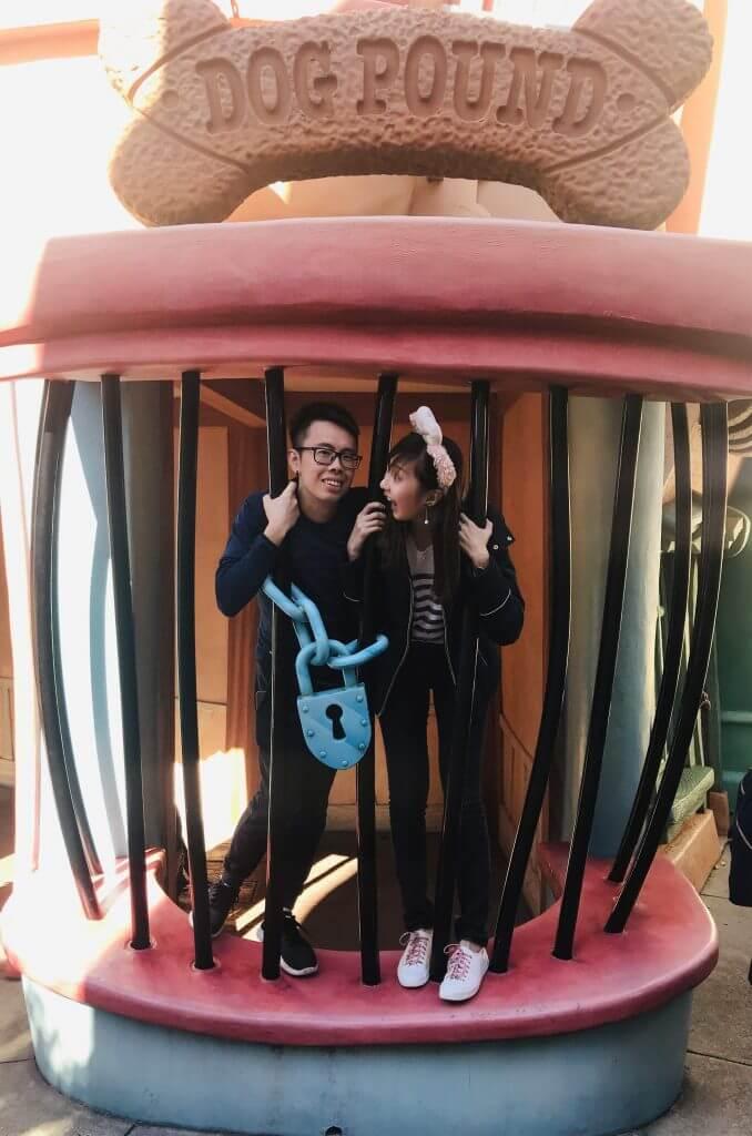 Toontown at Disneyland
