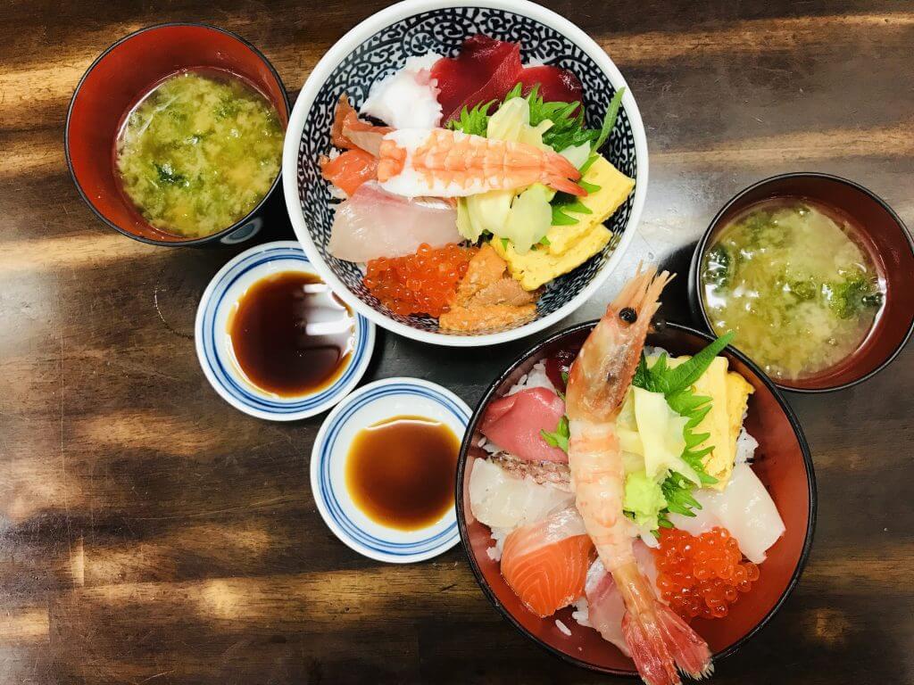Lunch at Tsukiji Market