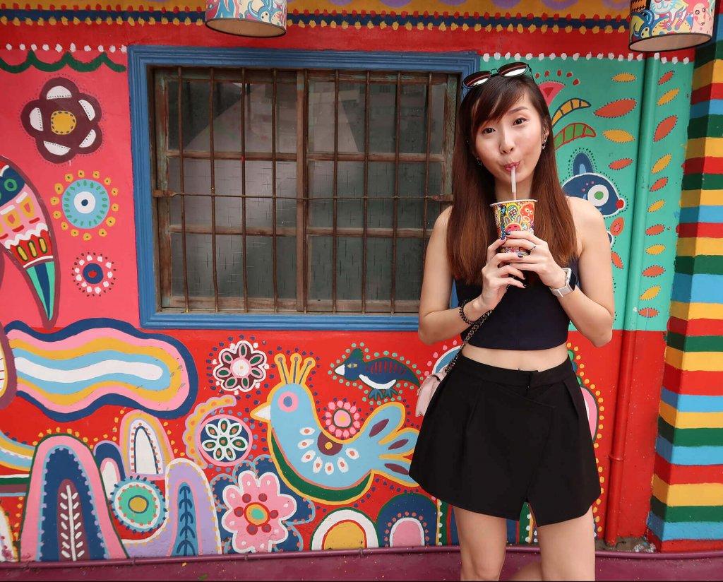 Minmin at Rainbow Village