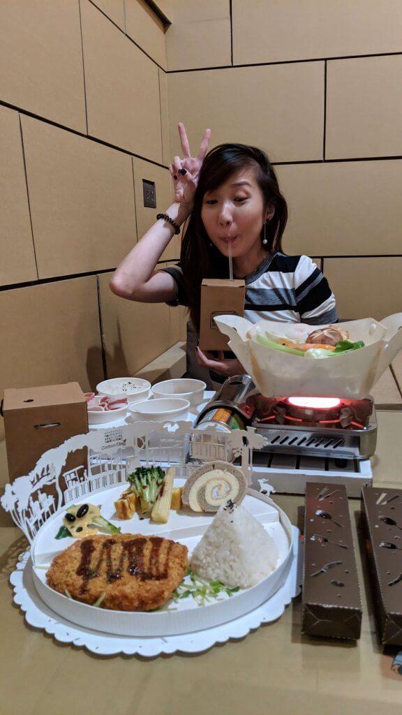 Lunch at Carton King Restaurant