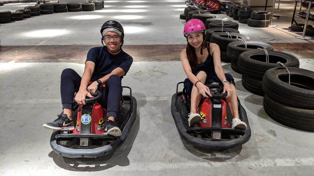 Go-kart at Hualien Bay Mall