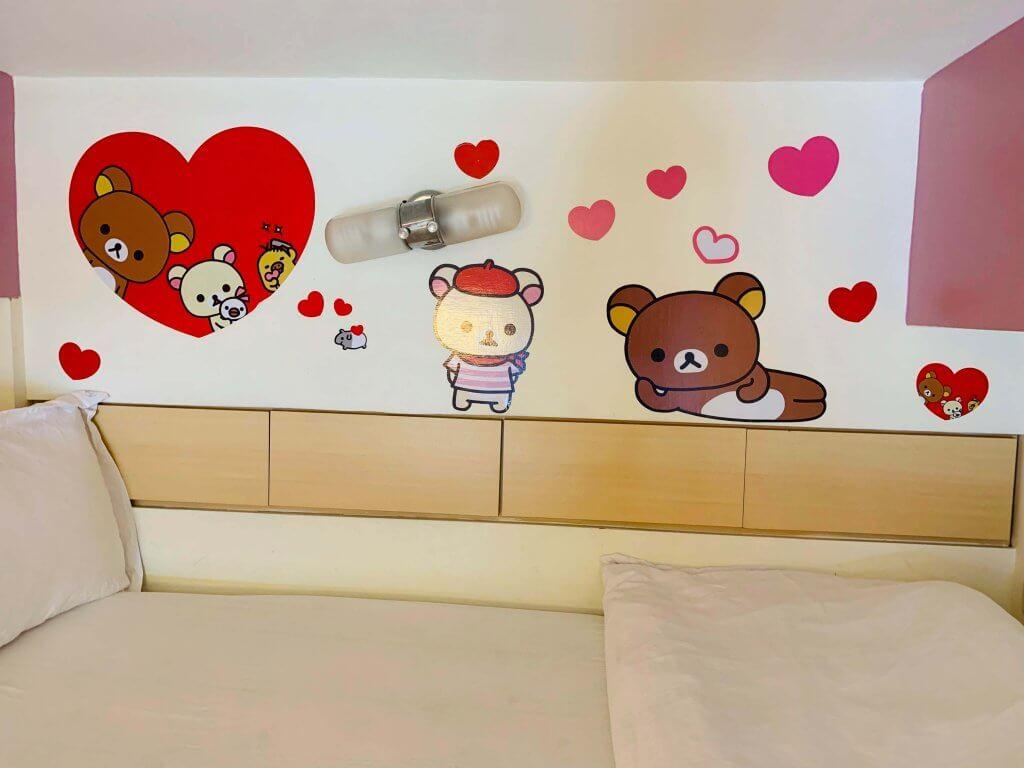 Rilakkuma Airbnb at Taipei Ximending