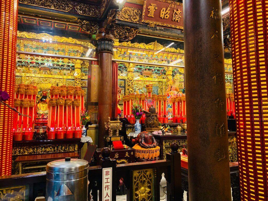 Tianhou Temple at Taipei Ximending