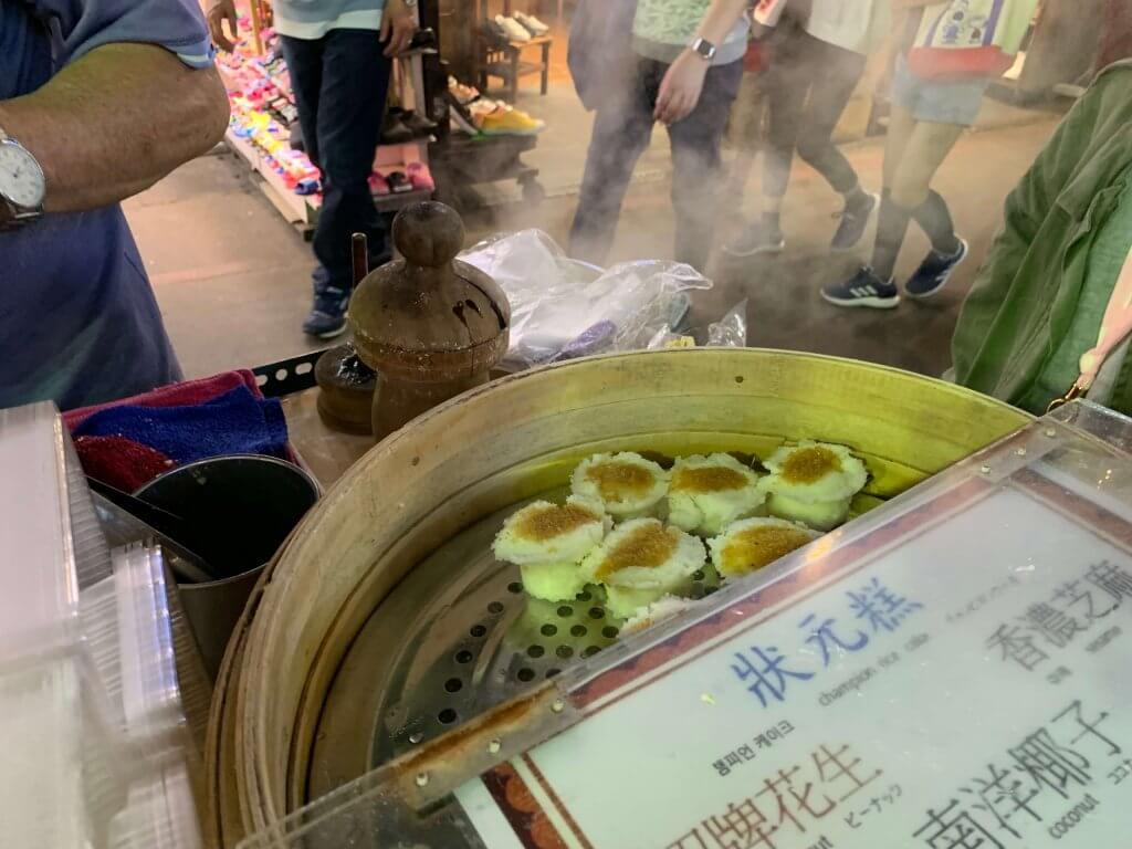Champion cake at Shilin Market